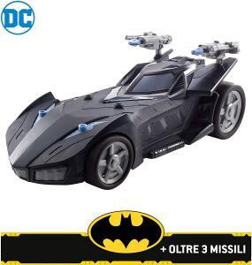 Batmobile Lançador de Projéteis, 30cm, DC Comics | R$162