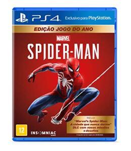 Marvel's Spider-Man - Edição Jogo do Ano - PlayStation 4 | R$ 123