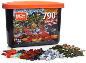 Blocos Montar Construx Mattel 790 peças   R$ 120