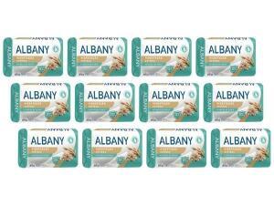 [APP] [Clube da Lu] Sabonete em Barra Hipoalergênico Albany - Hidratação Antibac 85g 12 Unidades