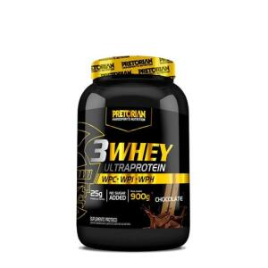 Whey Protein 3W Pretorian 900g - Três sabores - Frete grátis
