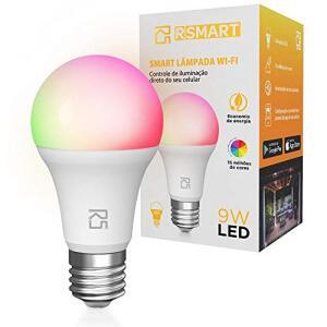 Smart Lâmpada Inteligente RSmart Wi-Fi LED 9W | R$100