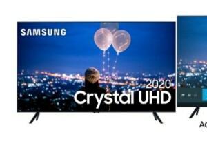 "(AME) Samsung Smart TV 75"" Crystal UHD 75TU8000 4K | R$5.605"