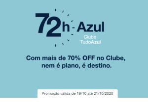 Club Tudo Azul. 70% de desconto.