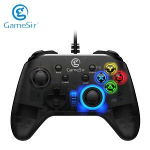 Gamepad com fio usb gamesir t4w | R$111