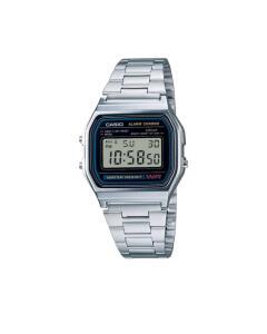 Relógio Unissex Casio Digital Resistente à Água-A158WA-1DF Prata   R$120