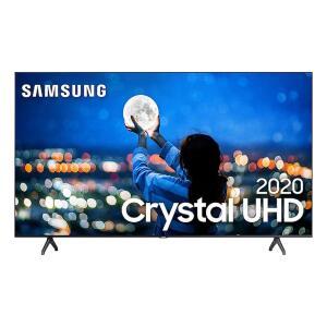 "Smart TV 58"" Samsung Crystal UHD 4K 2020 UN58TU7000 HDMI R$ 2474"