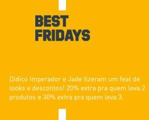Best Friday Adidas - Até 30% OFF