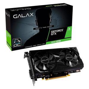 Placa de Vídeo Galax NVIDIA GeForce GTX 1650 Super EX 1 Click OC | R$1.128