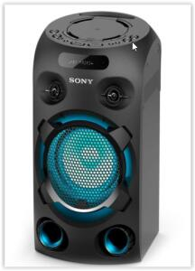 Mini System Sony Torre de Som MHC-V02 Bluetooth MP3 USB   R$ 699