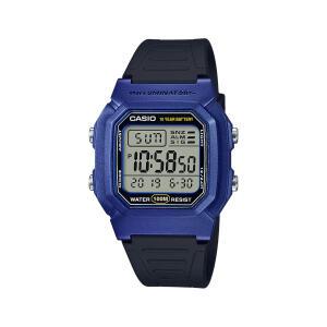 Relógio Casio Standard Masculino Preto Digital W-800HM-2AVDF