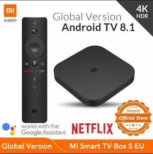 Xiaomi mi box S 4k (Versão Global)   R$388
