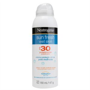 Protetor Solar Neutrogena Sun Fresh FPS 30 Aerosol 180ml | R$20