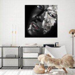 Tela Decorativa Quadrada Beauty Face | R$79