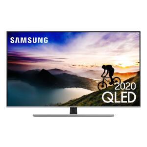 """Smart TV 55"""" QLED 4K 55Q70T, Pontos Quânticos, HDR, Borda Infinita, Alexa, Modo Ambiente 3.0, Controle Único, Livre de Cabos R$4.099"""