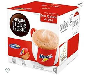 [PRIME] Nescafe Dolce Gusto, Nescau, 10 Cápsulas