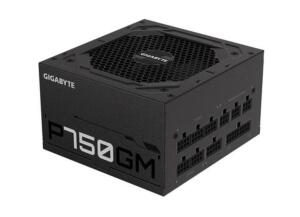 Fonte Gigabyte GP-P750GM, 750W, 80 Plus Gold, Totalmente Modular - R$750