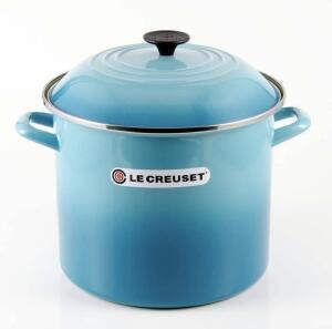 [AME R$97,23] Caldeirão Le Creuset 7,6L Azul Caribe