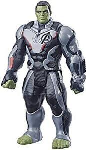 Boneco Titan Hero Marvel Deluxe 2.0 Hulk, Avengers, Verde | R$50