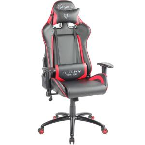 Cadeira Gamer Husky Blizzard, Black Red - HBL-BR | R$1.100