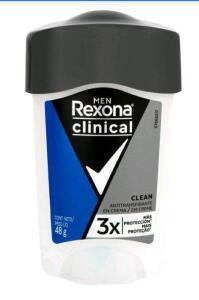 [Leve 3 e pague 2/App] Desodorante Rexona Clinical | R$ 38