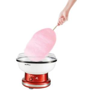 Máquina de Algodão Doce Britânia Cottonpop BMA01V – Vermelho 110V | R$198