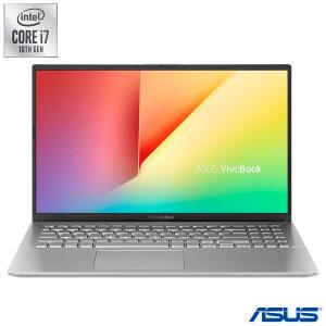 Notebook Asus VivoBook 15, Intel® Core™ i7 1065G7, 16GB, 512 GB SSD, Nvidia MX330, Prata Metálico - R$5960