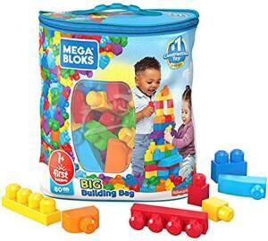 Mega Bloks Sacola de 80 Blocos   R$ 69
