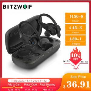 Fone de ouvido TWS Dual Dynamic Driver Blitzwolf® BW-FYE10 Bilateral | R$ 214