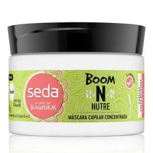 Máscara de Tratamento Seda - Boom Nutre - 300g | R$7