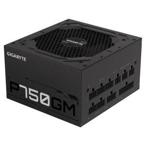Fonte Gigabyte GP-P750GM, 750W, 80 Plus Gold, Totalmente Modular R$640