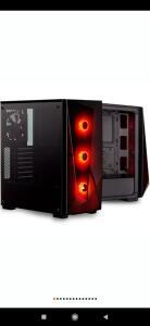 Gabinete Gamer Corsair Carbide Series Spec Delta RGB, Mid-Tower, 3 Fans, Vidro Temperado, Preto - R$400