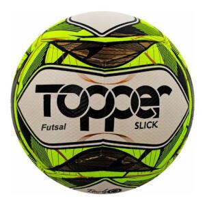 Bola de Futebol Salão Topper Slick – Amarela | R$30