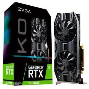 Placa de Vídeo EVGA NVIDIA GeForce RTX 2070 Super KO Gaming, 8GB, GDDR6 - 08G-P4-2072-KR   R$ 3200