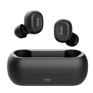 QCY T1C TWS bluetooth Earphones Wireless Earbuds | R$ 75