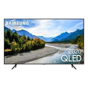 "Samsung Smart TV 50"" QLED 4K 50Q60T   R$2700"