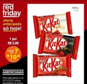 Kitkat 7 por R$10,00