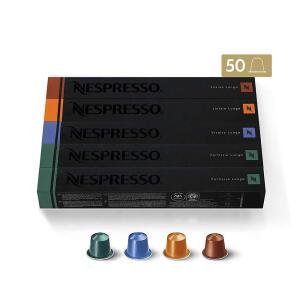 [AME R$84] - Nespresso 50 cápsulas de café Lungo R$120