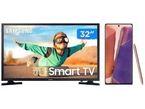 "Smartphone Samsung Galaxy Note 20 256GB + Smart TV LED 32"" | R$4735"