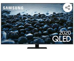 "Smart TV QLED 55"" 4K Samsung 55Q80T   R$3999"