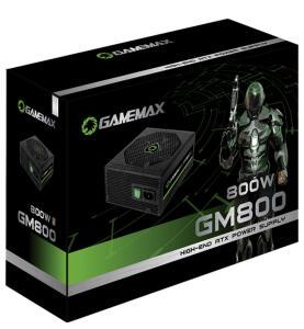 Fonte de Alimentação Gamemax 800W GM800 80 Plus Box Com PFC - R$432
