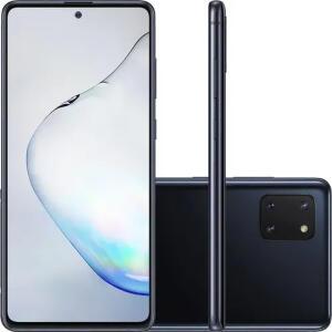 Smartphone Samsung Galaxy Note 10 Lite 128GB Câmera tripla Preto R$699