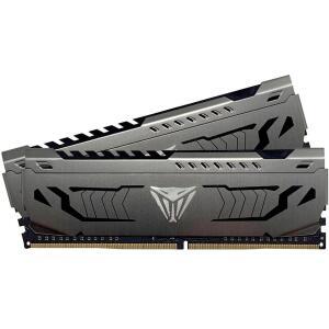 Memória DDR4 Patriot Viper Steel 8GB (2x4GB) 3200MHz CL16 Black - R$299