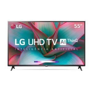 [APP+AME] Smart TV 4K 55 LG LED UHD 55UN7310PSC HDR 3 HDMI 2 USB R$2335