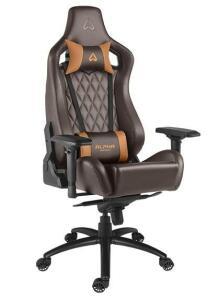 Cadeira Gamer Alpha Gamer Polaris Office, Black Brown