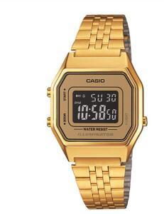Relógio Feminino Digital Casio Vintage LA680WGA-9BDF - Dourado | R$200
