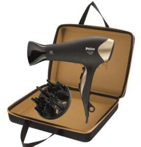 Secador de Cabelos Philco Golden Star com Emissão de Íons | R$130