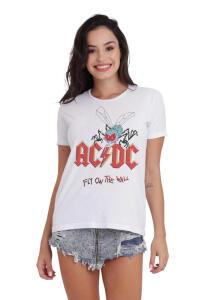 Camiseta Básica Feminina Fly On The Wall | R$25