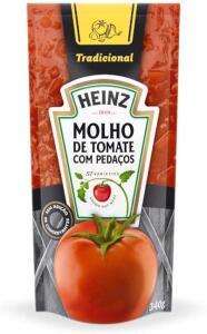 Molho Tradicional Heinz Sache 340G | R$1,71