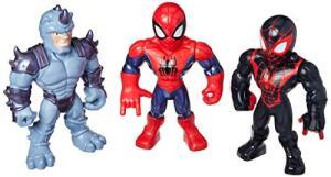 Playskool Super Hero Adventures Mega Mighties 3 Figuras Pack - E4842 Playskool R$88